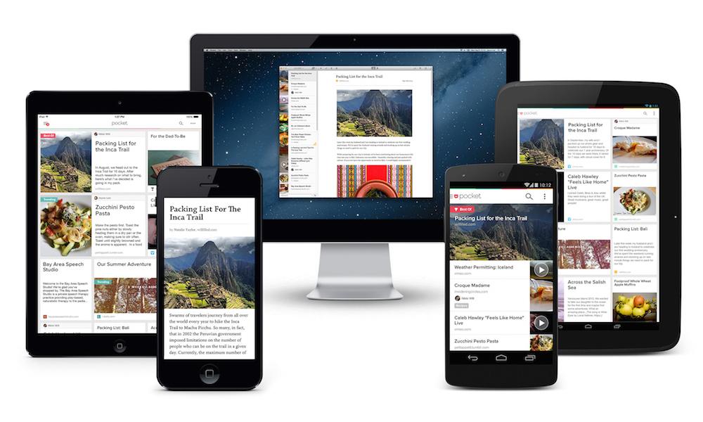 Pocket Platform - iOS, iPhone, iPad, Android, tablet, desktop, Mac, Kobo apps
