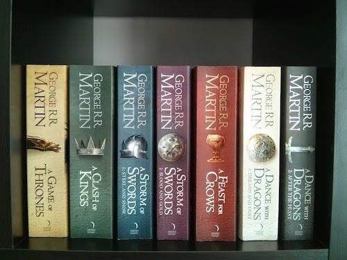 Books - Game Of Thrones Collection - Bookshelf