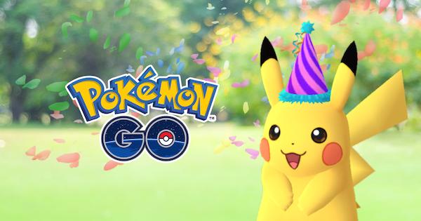 Pokémon Go Festive Pikachu
