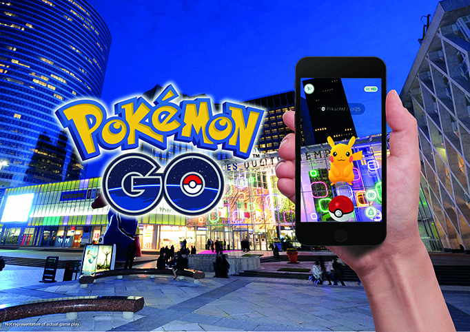 Pokemon Go in Shopping Centers