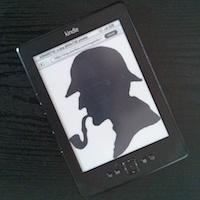 Book vs Kindle - Sherlock Holmes